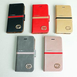 グッチ アイフォン8ケース 手帳型 iPhone7 手帳ケース シンプル