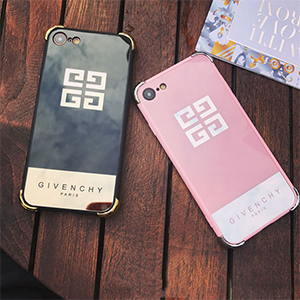 iPhone8 ケース ジバンシィ iPhone7 鏡面ケース Givenchy ペア