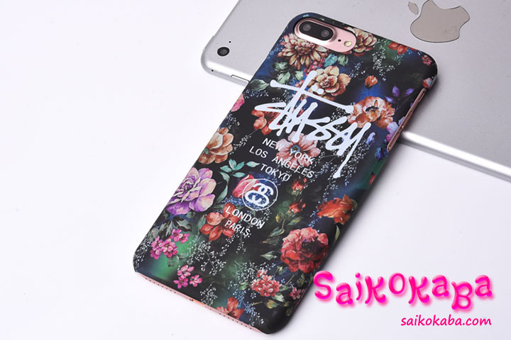 STUSSY iPhone6ケース 落下防止