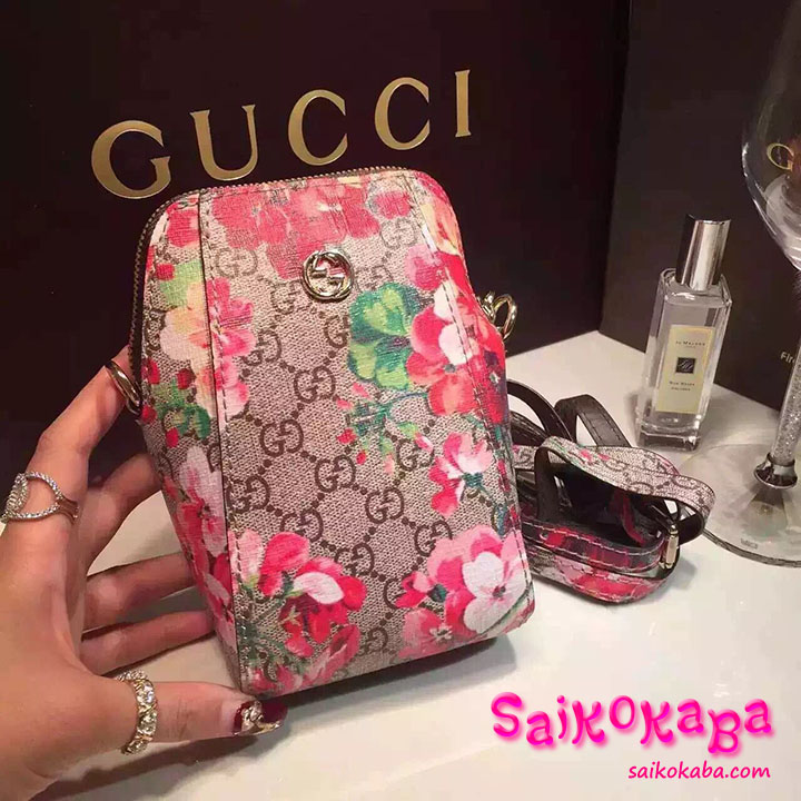 GUCCI iphone7 ケース バッグ型