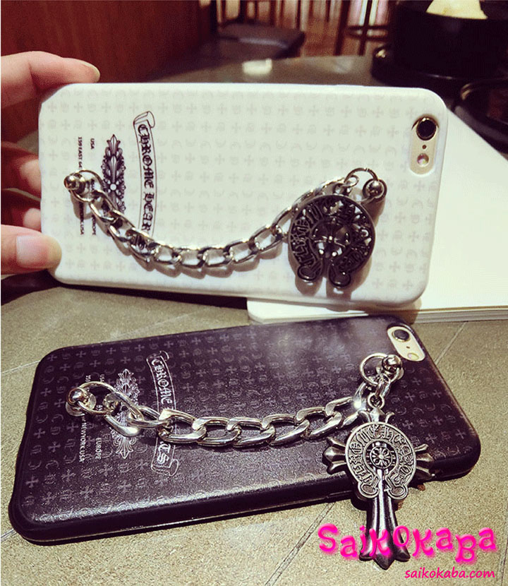 Chrome Hearts iPhone6sケース チェーン付き