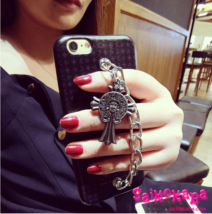 iphone6plus ケース chrome hearts