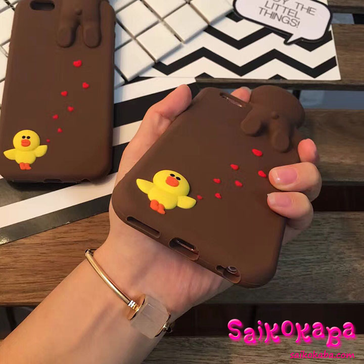 iphone6s case Line friends BROWN