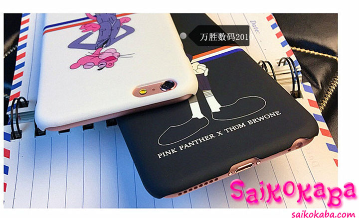 Pink Panther × Thom Browne iphone6plus ケース おしゃれ