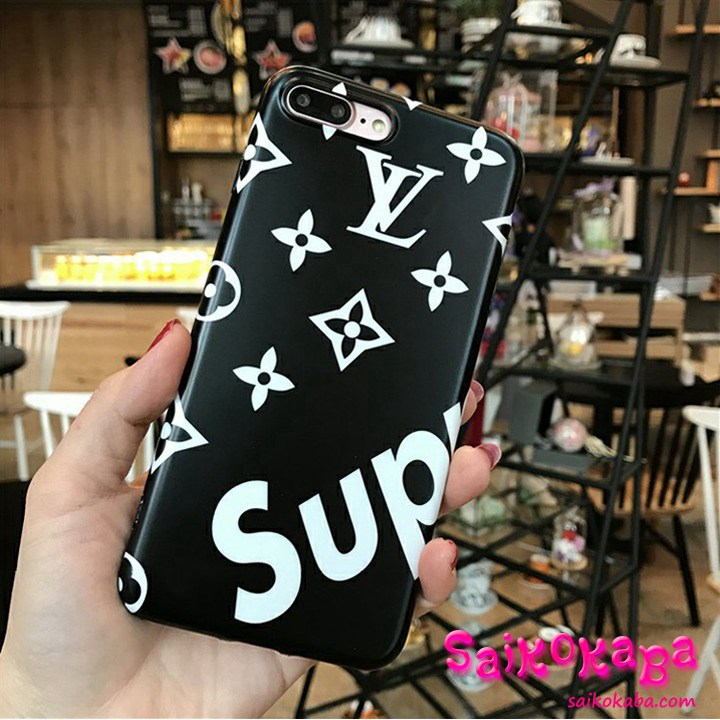 iPhone7s Plus ケース Lv Supreme 保護