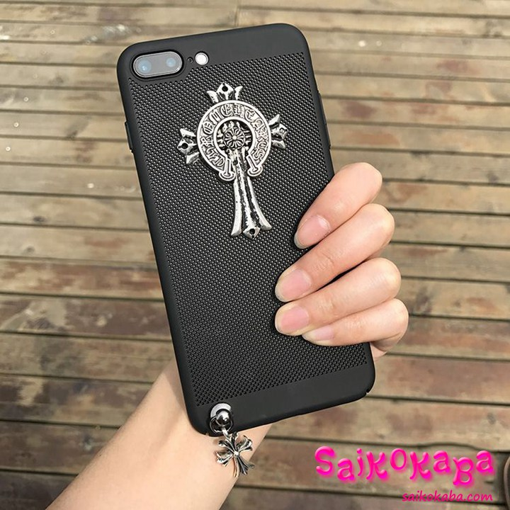 chrome hearts iphone8ケース 通気