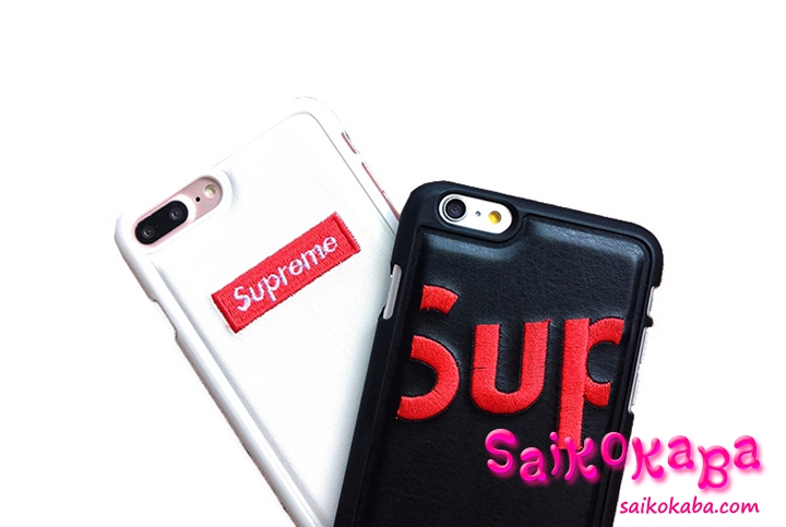 SUPREME iPhone7 Plusケース シンプル