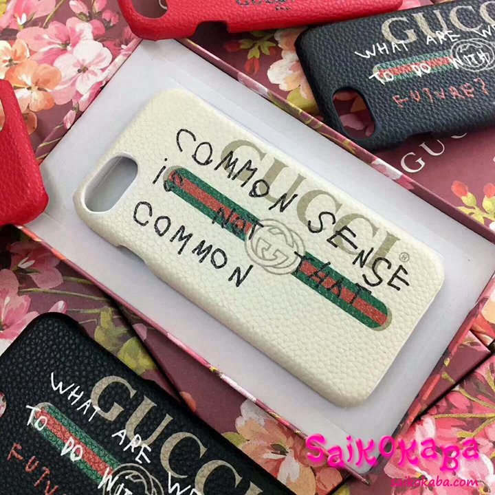 iPhone6s Plus Gucci レザーケース