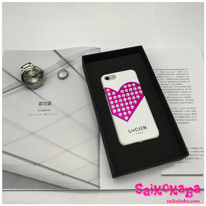 iPhone6s Plusケース LUCIEN L'AMOUR CHROME