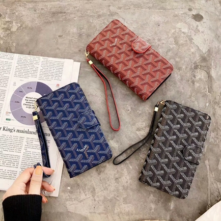 Goyard iPhone Galaxy 手帳ケース