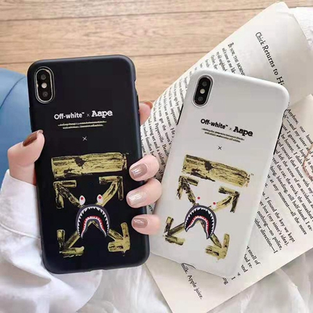 OFF WHITE x Aape iPhoneXS MAX ケース