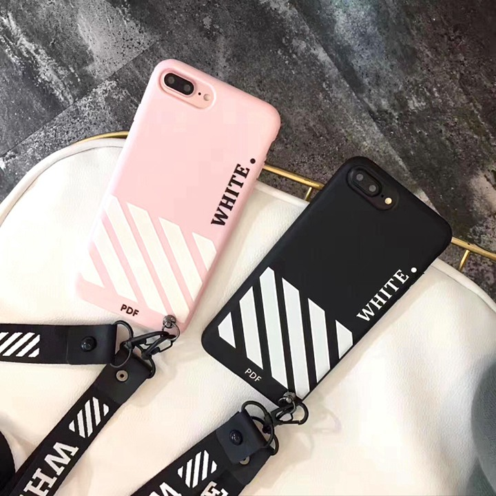 OFF-WHITE iPhoneXケース 個性的