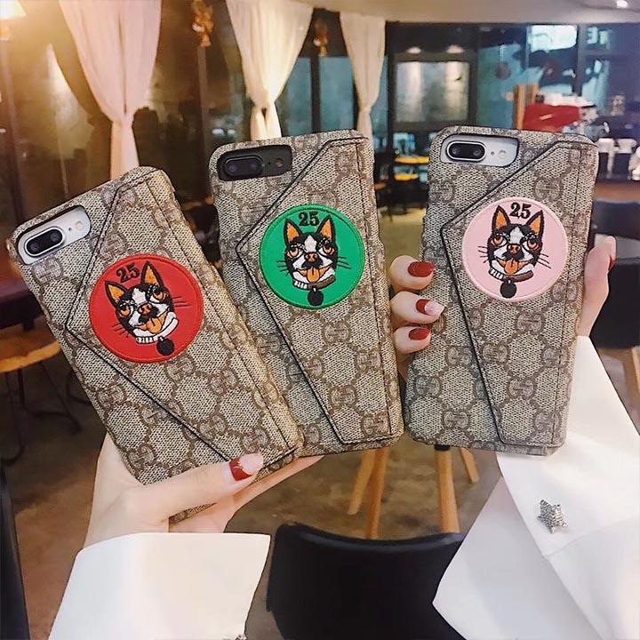 ブランド iPhoneXケース パロディー風