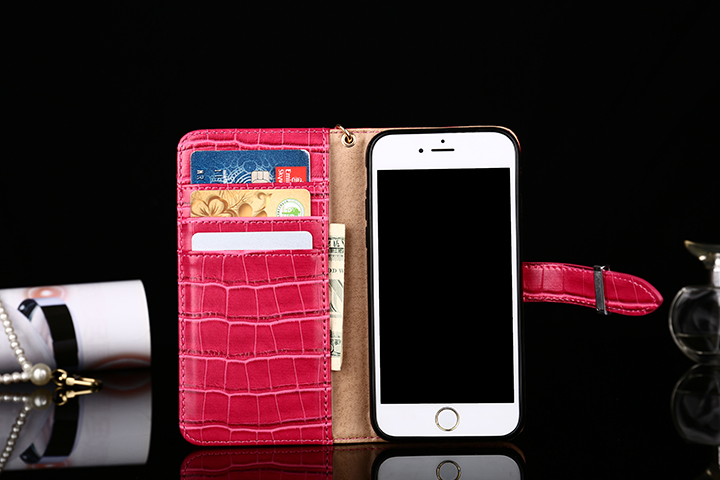 ワニ柄 Hermes iphone7 plus手帳ケース