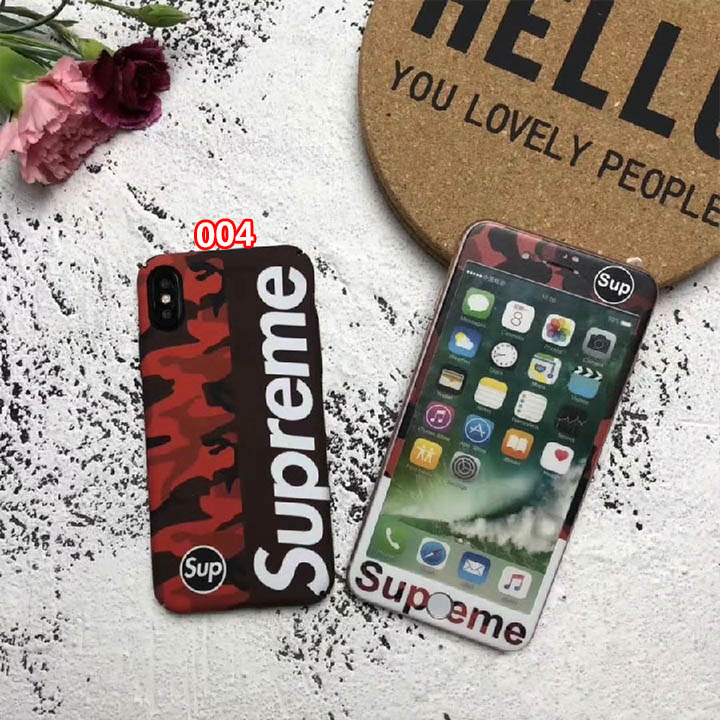 迷彩 supreme iPhone8 Plusケース