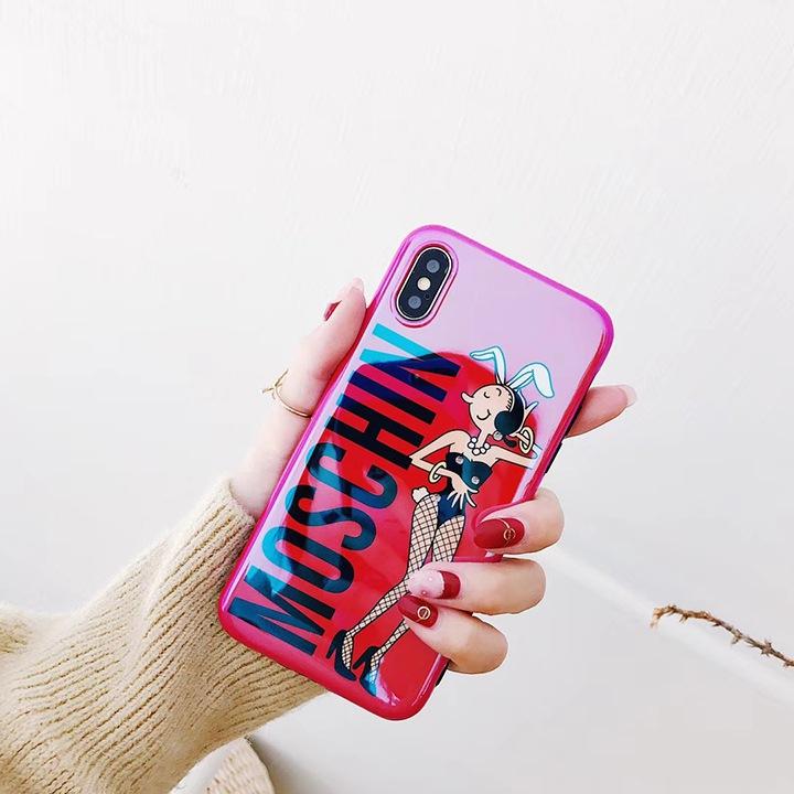 バニーガール iPhoneX ケース モスキーノ