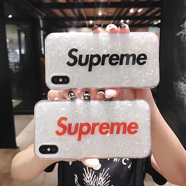 シェル iphonex ケース シュプリーム