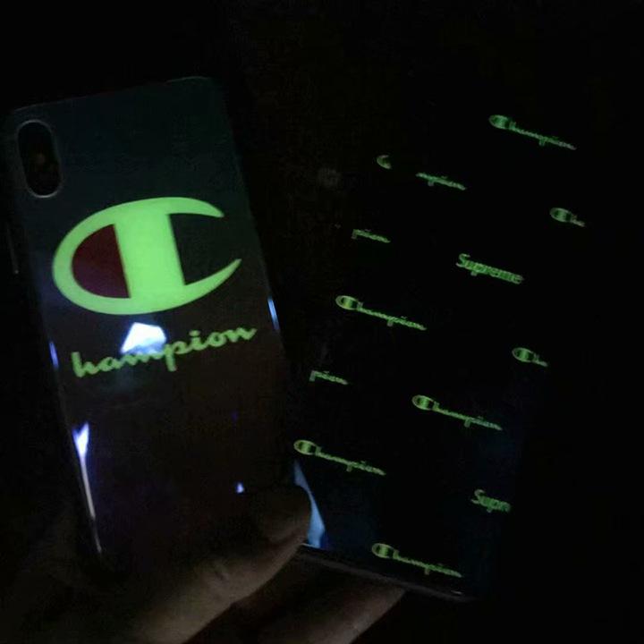 チャンピオン iPhone8 プラスケース ブランド 個性的
