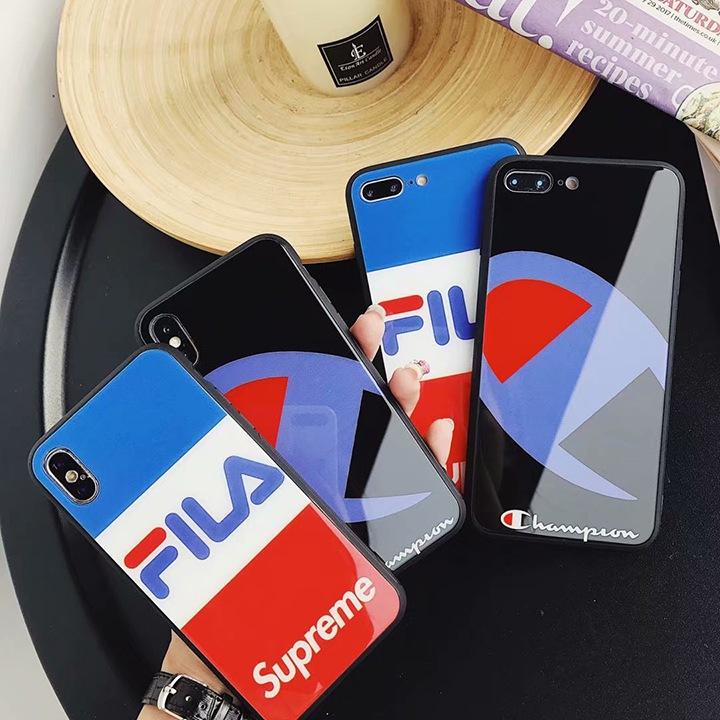 SUPREME FILA CHAMPION iPhoneXケース