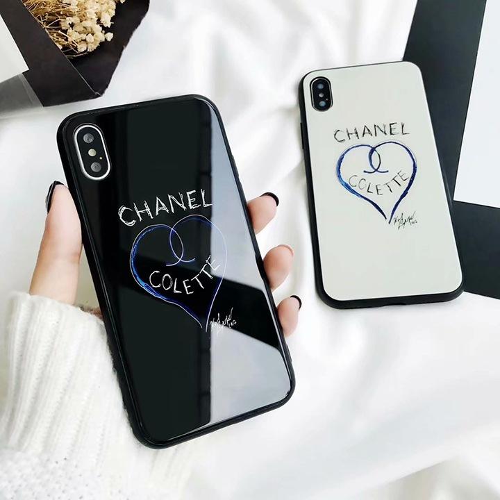 鏡面 chanel iphonexケース
