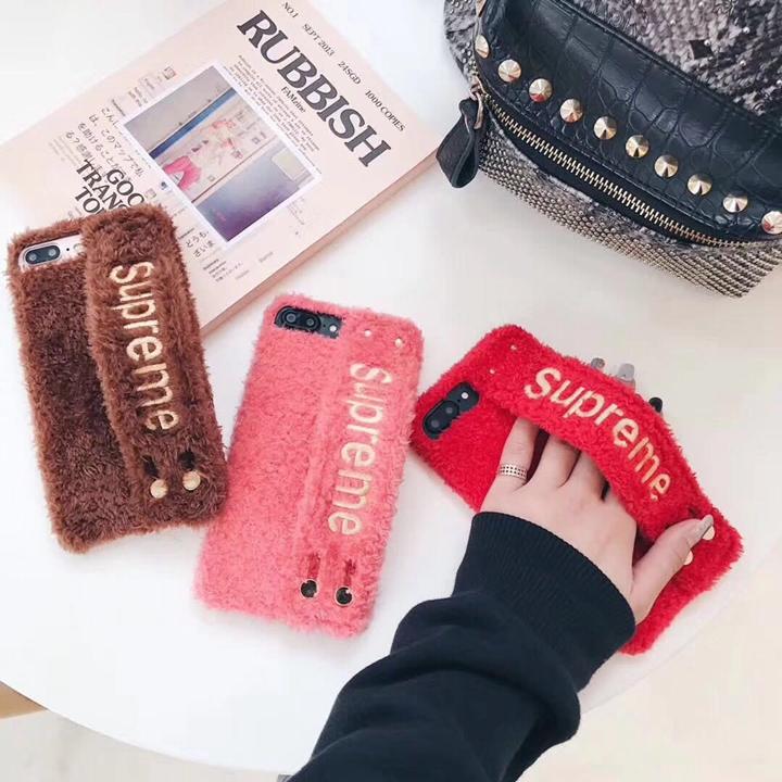 ぬいぐるみ supreme iPhoneXS ケース
